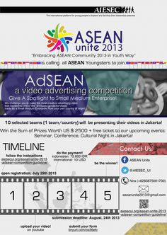 AdSEAN #adsean #competition #design #unite #video #poster #asean