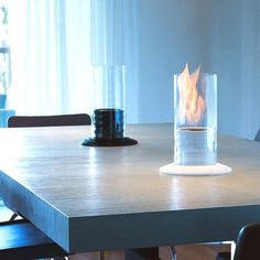 Gasper Ceramic Bio-Fireplace #hone #gadget #fireplace