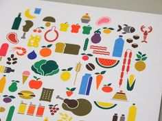 FFFFOUND! | Maria Villaró - Graphic Design #food