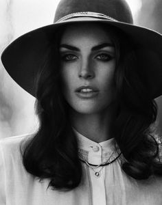 Hilary Rhoda by Thomas Whiteside for DuJour Magazine #model #girl #photography #portrait #fashion