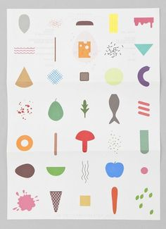 Design Work Life » Raw Color: Keukenconfessies Identity and Collateral #illustration