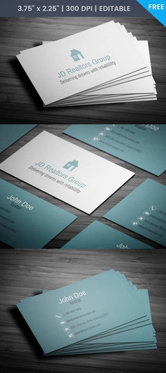 Free Real Estate Agent Business Card Template