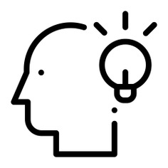 See more icon inspiration related to brain, idea, head, user, avatar, social, invention, ideas, electronics, light bulb and profile on Flaticon.