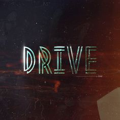betype:DRIVE•2046 (by Warren Keefe) #typography