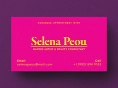 Selena Peou #logo #branding