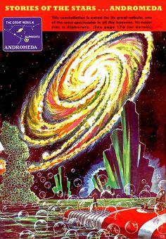 1945 ... Andromeda   Flickr Photo Sharing! #illustration #galaxy