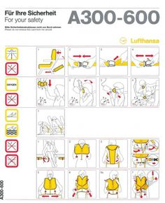 lufthansa_a300-600_1.jpg (JPEG Image, 800x986 pixels) #airplane #infographics #safety #manual #lufthansa