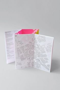 Day of Architecture Groningen | Identity Designed #design #maps #graphic #brochure #dutch