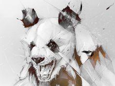 Alexis Marcou - Krop Creative Database #marcou #illustration #alexis #panda