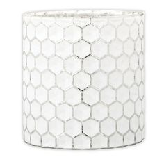 Melisand Glass Tealight Holder, 11.5cmH x 11cmD
