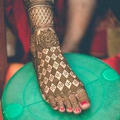 best Jaali mehendi designs