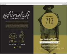 taco, website, fletcher