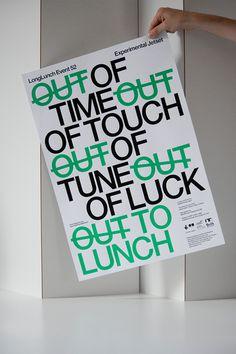 www.longlunch.com #jetset #experimental #longlunch #poster