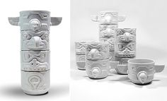 Stacking Totem Cups from Imm Living #totem #cups