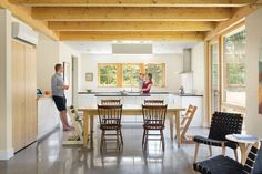 Hayfield House Features Traditional Forms and Modern Interior Design 4