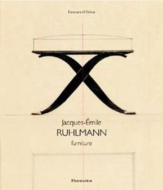 303341-idx040801_book1_UK.jpg (250×292) #book #cover #illustration #furniture #art #deco #ruhlmann #sketch