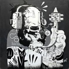 Dudes Factory & Mc Bess on the Behance Network #ass #mcbess #illustration #art #bad