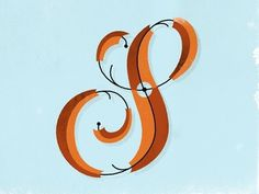 Dribbble - S Fight by Patrick Macomber #illustration #typography #letter s