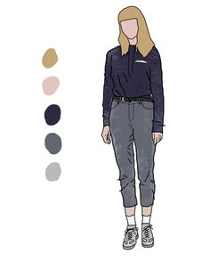 Fashion Illustration by Nate Panetti