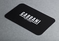 Gabbani stationary : DEMIAN CONRAD DESIGN #card #business
