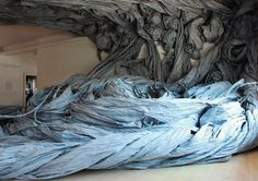 Giant Paper Installation