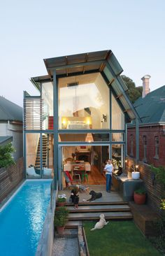 Australian Bungalow with a Modern Addition
