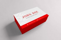 Red and white business card mock up Free Psd. See more inspiration related to Business card, Mockup, Business, Card, Template, Red, Web, Website, White, Mock up, Templates, Website template, Mockups, Up, Web template, Realistic, Real, Web templates, Mock ups, Mock and Ups on Freepik.
