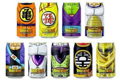 "Dragonball Series ""Heroes Hall Can Reprint"" Energy Drink #dragon #ball #packaging #drink #comic #manga #anime #art #z #soda #funny"