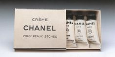 Chanel Crème vintage packaging