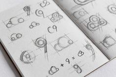 Cloud 9 Logo design #logodesign#graphicdesign #branding #cloud 9 sketches www.ashflint.com