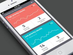 Graph, stats and analytics apps ui design #graph