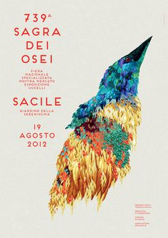 Sagra dei Osei on Behance #illustration #typography
