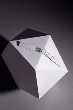 Clara Terne, Design & Illustration #modular #sculpture #white #clara #terne #minimal #papercraft #paper