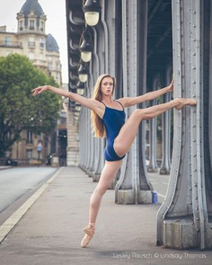Breathtaking Portraits of Ballet Dancers by Lindsay Thomas