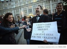 9GAG - Just for Fun! #protest