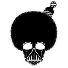 Google Reader (1000+) #hair #star wars #darth vader #funk