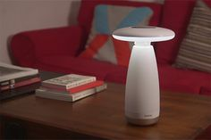 Roome: A Motion Detecting Smart Lamp - IPPINKA Roome is the smart lamp you never knew you needed. Using motion-sensor technology, Roome can sense when you need light and when it should save its energy. It even considers light intensity so you'll always be satisfied with how bright your room is at any given time.