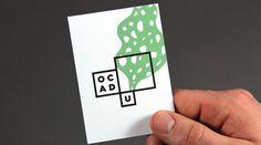 Bruce Mau's Smart Art-School Logo Is A Mini Art Gallery For Student Work | Co.Design #ocad #business #branding #card #school #design #graphic #identity