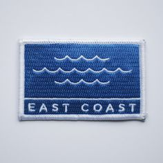 East Coast Patch #patch #design #waves #east
