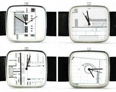 Buamai - Buamai Curation #white #watch #black #and #blueprint #sketch