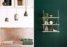 green home accessories #interior #design #decor #deco #decoration