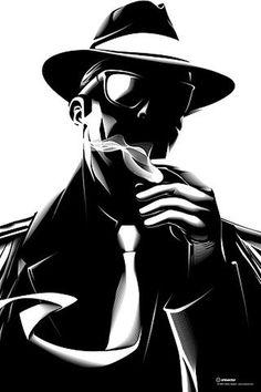 FFFFOUND! | Noir on the Behance Network