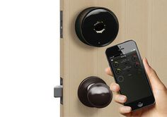 The future is wireless, and the Danalock smart lock is leading the charge. Why carry around keys anymore, when you can open your door with y #product #lifestyle #design #modern