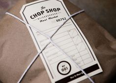 Fonts In Use – The Chop Shop #typography #packaging