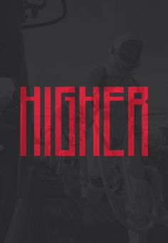 Higher Free Font on Behance #condensed #higher #typography