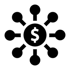 See more icon inspiration related to network, money, connection, dollar symbol, business, networking and technology on Flaticon.