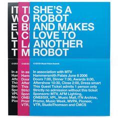 StudioThomson – CADS 2006 #simple #print #typography