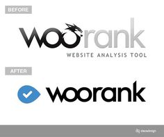 Woorank new Logo #woorank #identity #branding #logo
