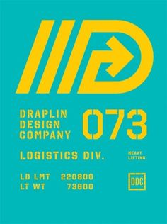 Draplin Design Co. #logistics #draplin #lifting #heavy