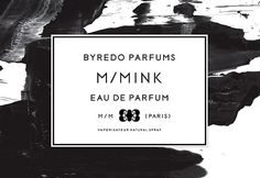 Projects - Byredo Parfums Online Store #perfume #byredo #design #graphic